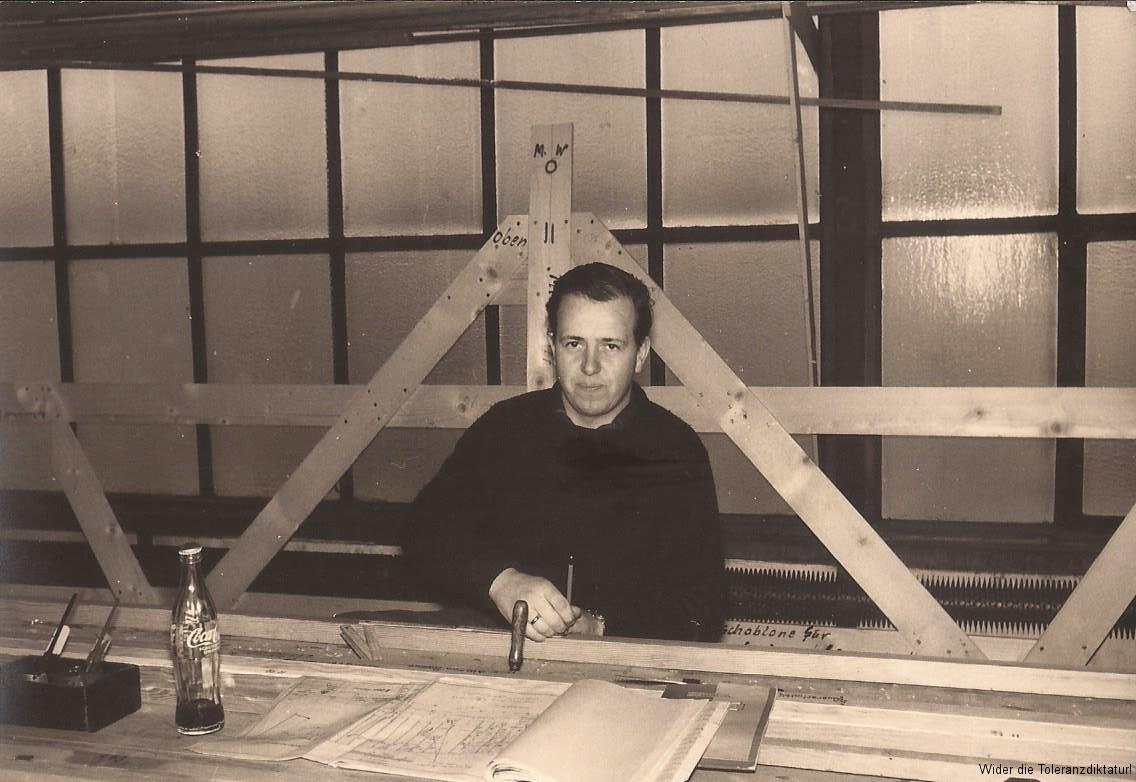Adolf Kölbel 1959 Schnürboden der Akschen