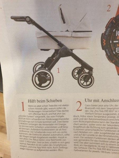 E-Kinderwagen