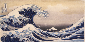 Von Katsushika Hokusai - 3gF011oIXv3kcQ at Google Cultural Institute, zoom level maximum, Gemeinfrei, https://commons.wikimedia.org/w/index.php?curid=22126577